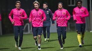 Barça B powraca do treningów