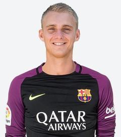 Maillot THIRD FC Barcelona Cillessen