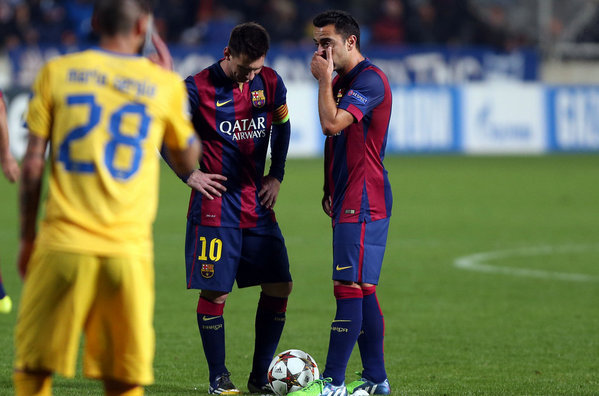 Messi rozmawiał z Xavim, a nie Luisem Enrique