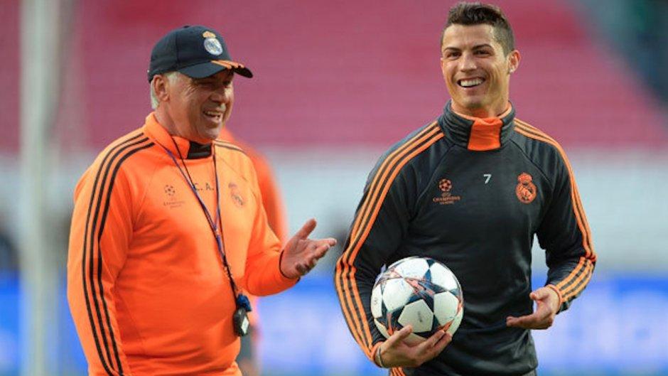 Ancelotti: Chciałbym zobaczyć Messiego i Ronaldo w jednym zespole