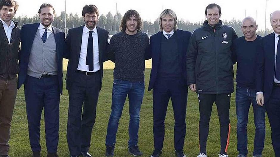 Carles Puyol odwiedził Juventus