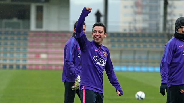 Xavi powołany na mecz z Atlètico