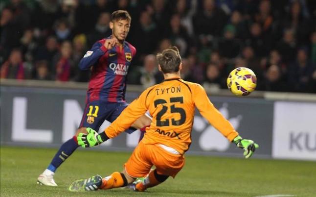 Neymar spisuje się bardzo dobrze w lidze