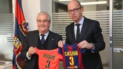 Sasha Piqué, nowy członek Barçy
