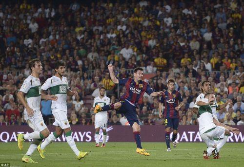 FC Barcelona – Elche CF; Składy