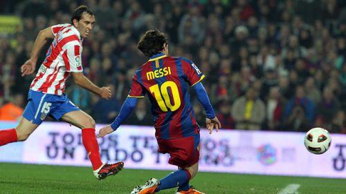 Messi – specjalista od meczów z Atlético