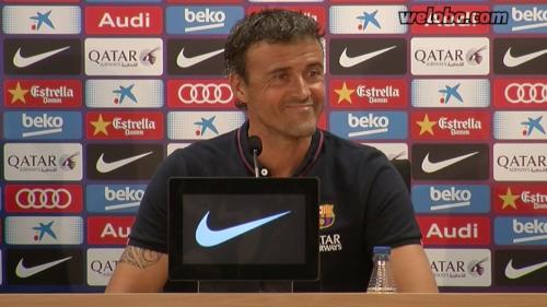 Luis Enrique: Chcemy, żeby Messi został w Barçy