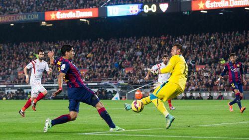 Goleady na Camp Nou
