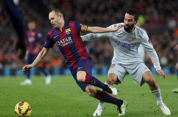 Iniesta: Nie było spotkania kapitanów