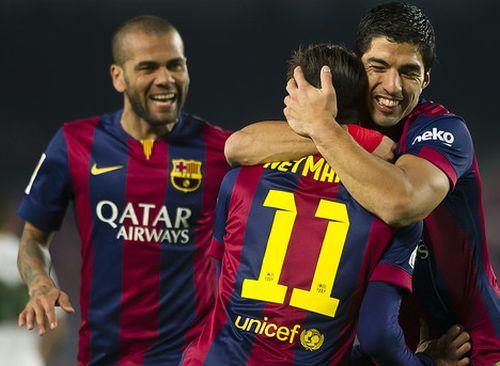 Groźne trio Barçy