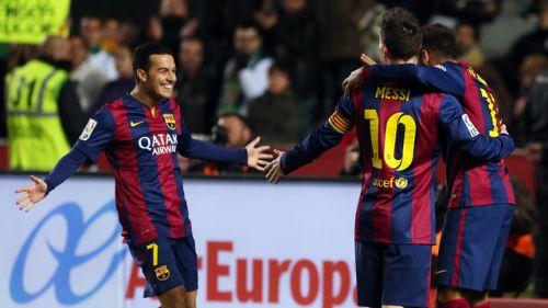 Mecz na szóstkę: Elche CF – FC Barcelona 0:6