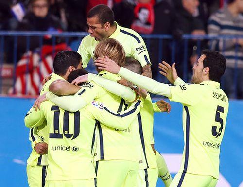 Zwycięstwo w pierwszej połowie: Atlético Madryt – FC Barcelona 2:3
