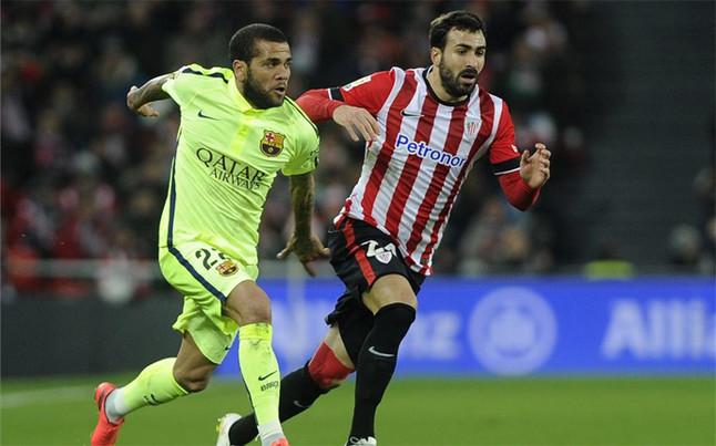 Alves nie zagra w meczu z Levante