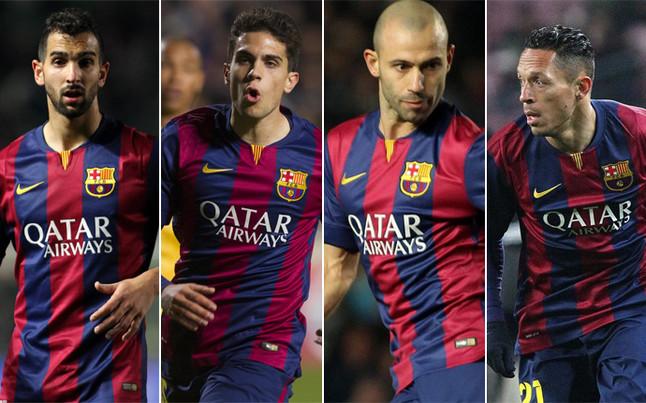 Nowa linia obrony w meczu z Levante