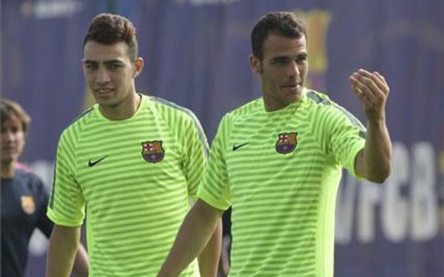 Munir i Sandro przygotowują się do meczu z Málagą