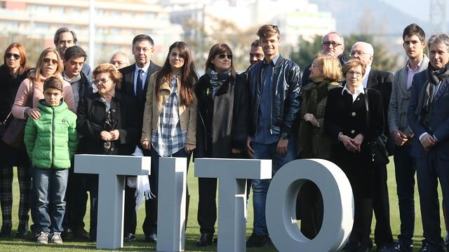 Boisko Ciutat Esportiva z imieniem Tito Vilanovy