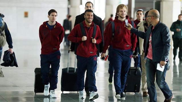 Piłkarze Barcelony podróżują do Manchesteru