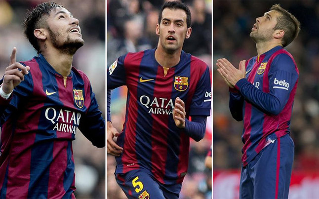 Neymar, Alba i Busquets muszą uważać przed meczem z Realem
