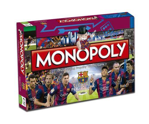 """""""Monopoly FC Barcelona"""" już dostępna!"""