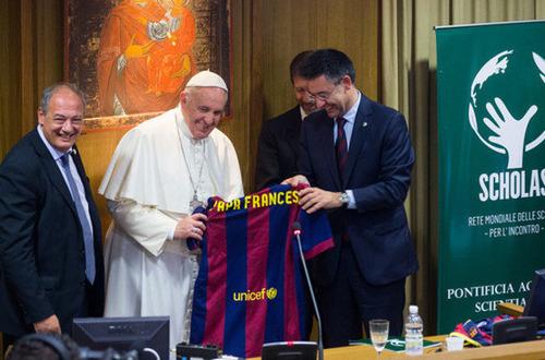 Barça u Papieża
