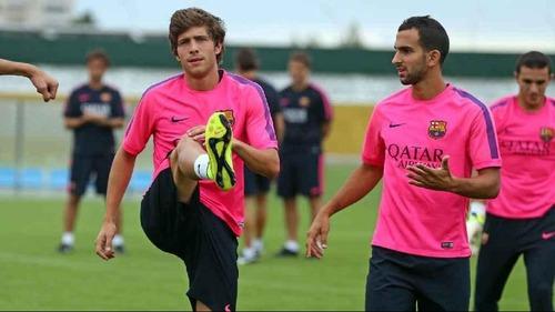 Bravo, Montoya i Roberto poza składem na Villarreal