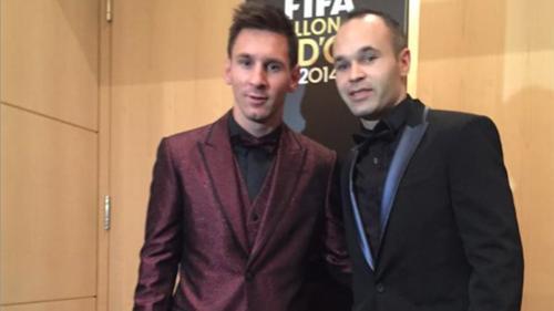 Iniesta: Messi jest kluczem w walce o tytuły