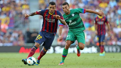 Levante bez punktów na Camp Nou