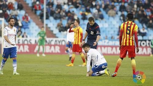 Real Saragossa – FC Barcelona B: Porażka na La Romareda (4:0)