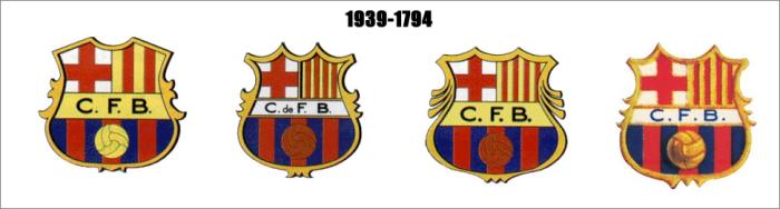 Herby Barcelony w latach 1939 - 1974