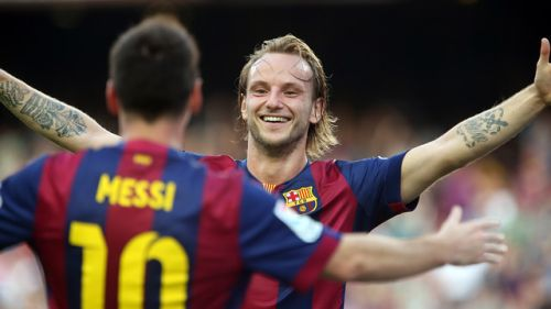 Ivan Rakitić, Leo Messi, Granada