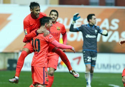 Ważne trzy punkty zdobyte: SD Eibar – FC Barcelona (0:2)