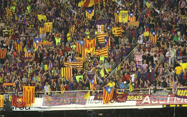 Fani Barcelony na Mestalla