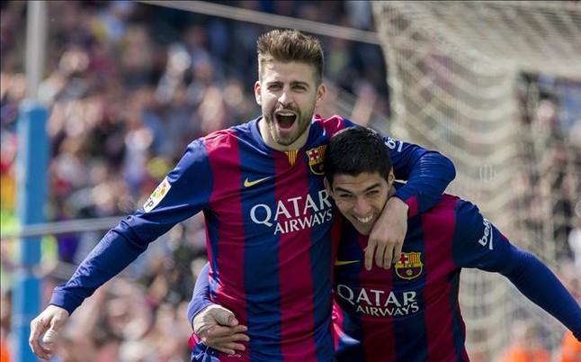 Piqué: Liga 100 punktów to byłoby złudzenie