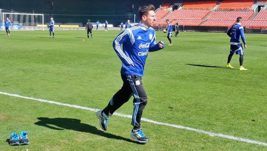 Leo Messi nie trenował z reprezentacją