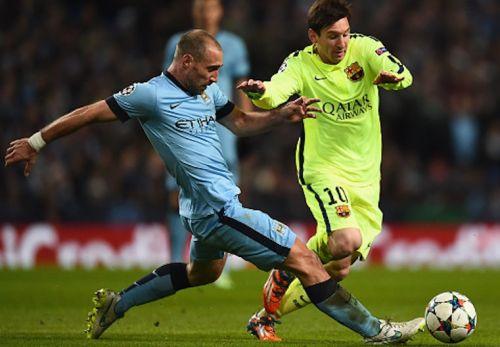Zabaleta: Barça ma trzech najlepszych napastników na świecie