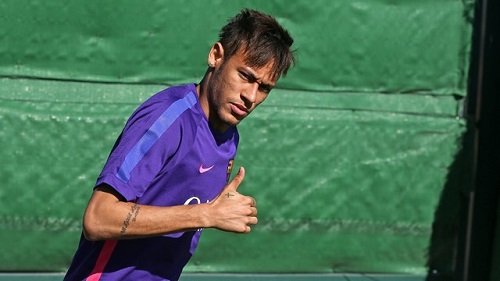 Claudio Bravo i Neymar wrócili do treningów z Barçą