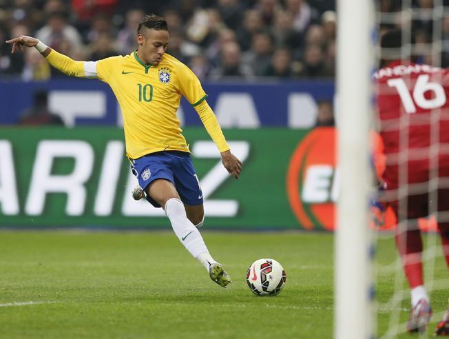 Neymar piątym strzelcem reprezentacji Brazylii w historii