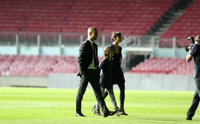 Pep Guardiola wróci na Camp Nou