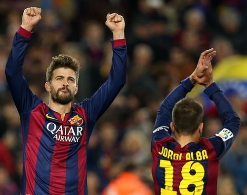 Piqué na Twittrze został wybrany najlepszym zawodnikiem meczu