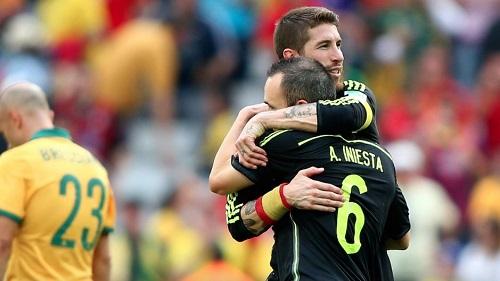 Ramos: Każda matka chciałaby Iniestę na zięcia