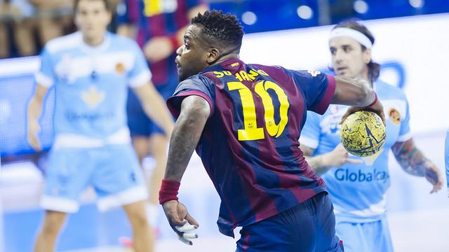 Globalcaja C. Encantada – FC Barcelona: Zwycięstwo i mecz bez historii (27:39)