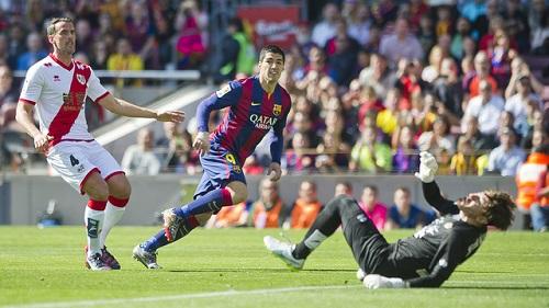 Statystyki meczu FC Barcelona – Rayo Vallecano