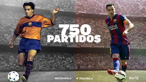 Nowy rekord Xaviego Hernándeza w FC Barcelonie