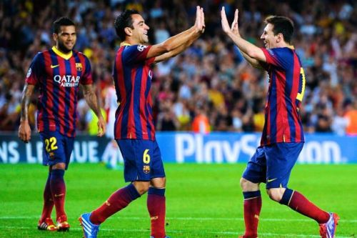 FC Barcelona – Rayo Vallecano; Składy
