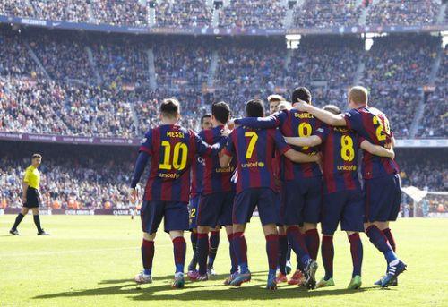 Barça zdobywa najwięcej bramek w Europie
