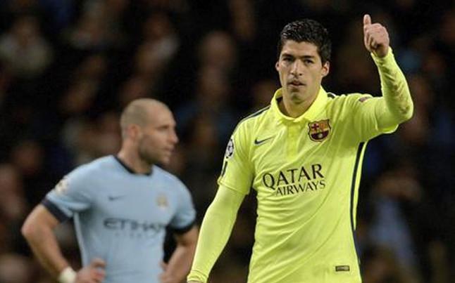 Manchester City chce Suáreza