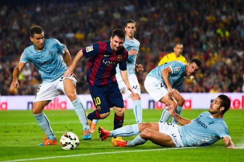 SD Eibar – FC Barcelona; Składy