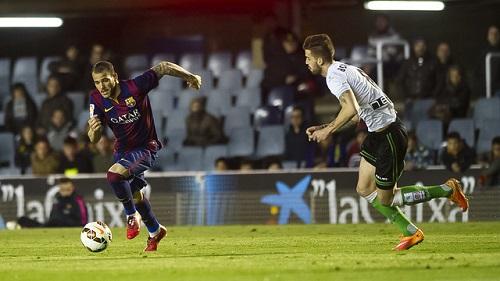 Barça B – Racing: Niewystarczający punkt (1:1)