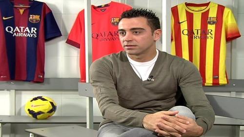 Xavi: Pełnię rolę doświadczonego kapitana