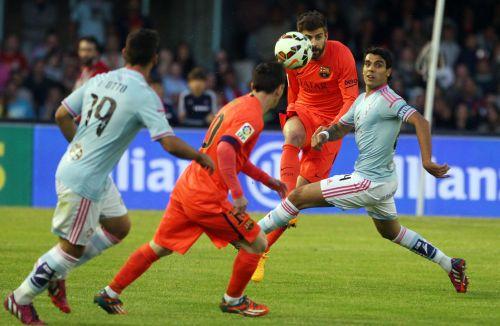 Walka i trzy punkty: Celta Vigo – FC Barcelona (0:1)